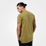 Thumbnail of Better Bodies Harlem Oversize Tee - Military Green