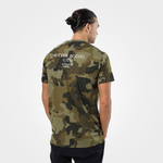 Thumbnail of Better Bodies Harlem Oversize Tee - Military Camo