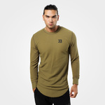 Thumbnail of Better Bodies Harlem Thermal Long Sleeve - Military Green