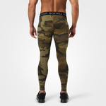 Thumbnail of Better Bodies Hudson Logo Tights - Dark Green Camo