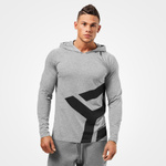 Thumbnail of Better Bodies Astor Long Sleeve Hoodie - Grey Melange