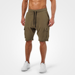 Thumbnail of Better Bodies Bronx Cargo Shorts - Khaki Green