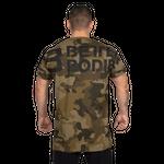 Thumbnail of Better Bodies Stanton Oversize Tee - Military Camo
