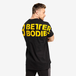 Thumbnail of Better Bodies Stanton Oversize Tee - Black/Yellow