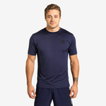 Thumbnail of Better Bodies Essex Stripe Tee - Dark Navy Melange