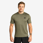 Thumbnail of Better Bodies Essex Stripe Tee - Washed Green Melange