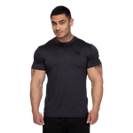 Thumbnail of Better Bodies Essex Stripe Tee - Graphite Melange