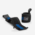 Thumbnail of Better Bodies Elastic Wrist Wraps - Black/Blue
