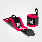 Thumbnail of Better Bodies Womens Wrist Wraps - Hot pink/White