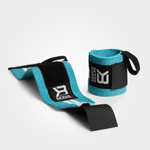 Thumbnail of Better Bodies Womens Wrist Wraps - Aqua/White