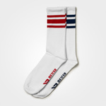 Thumbnail of Better Bodies Brooklyn Socks 2-pack - Dark navy/red