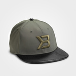 Thumbnail of Better Bodies Harlem Flatbill Cap - Military Green