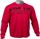 Thumbnail of GASP Thermal gym sweater - Chili Red