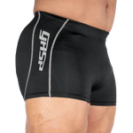 Thumbnail of GASP Logo hotpant V2 - Black