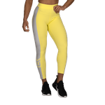 Thumbnail of Better Bodies Chrystie High Tights - Lemon Yellow