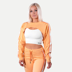 Thumbnail of Better Bodies Chrystie cropped Longsleeve - Light Orange