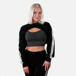 Thumbnail of Better Bodies Chrystie Cropped Longsleeve - Black