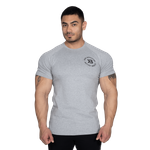 Thumbnail of Better Bodies Gym Tapered Tee - Light Grey Melange