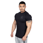 Thumbnail of Better Bodies Gym Tapered Tee - Black