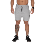 Thumbnail of Better Bodies Tapered Sweatshorts - Light Grey Melange