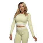Thumbnail of Better Bodies Rib Seamless Long Sleeve - Mellow Green Melange