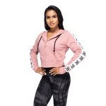 Thumbnail of Better Bodies Vesey Cropped Hood - Heather Pink