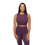 Thumbnail of Better Bodies Roxy Seamless Top - Royal Purple