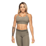 Thumbnail of Better Bodies Gym Sports Bra - Green Camo