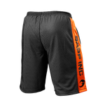 Thumbnail of GASP No1 mesh shorts - Black/Flame