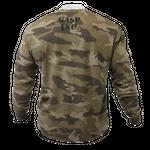 Thumbnail of GASP Thermal gym sweater - Green Camoprint