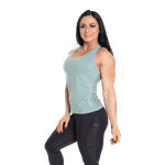 Thumbnail of Better Bodies Seamless Mesh Tank - Teal Green