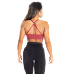Thumbnail of Better Bodies Astoria Seamless Short Bra - Sangria Red