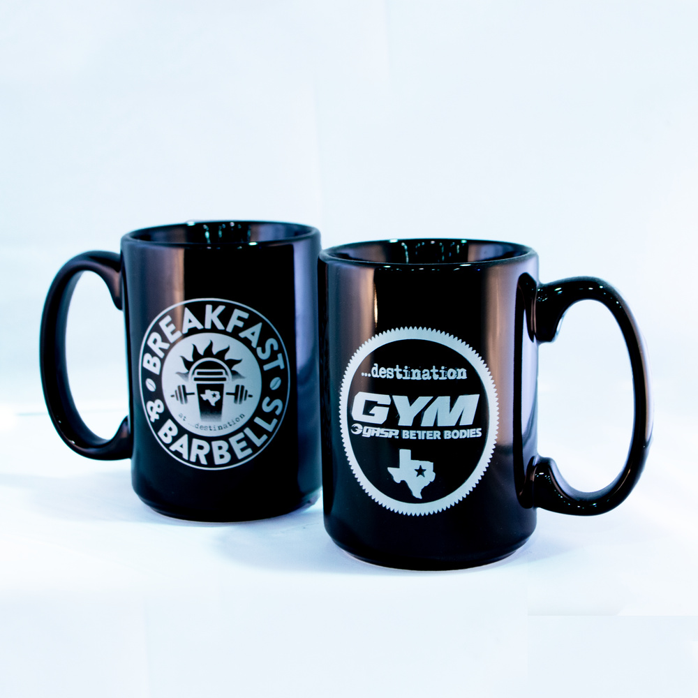 Gallery image of Breakfast & Barbells Coffee Mug