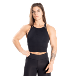 Thumbnail of Better Bodies Performance Crop Halter - Black