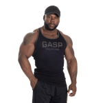 Thumbnail of GASP Ribbed T-back - Black
