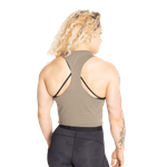 Thumbnail of Better Bodies Fluid Loose Racerback - Washed Green