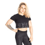 Thumbnail of Better Bodies Astoria Cropped Tee - Black
