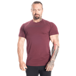 Thumbnail of Better Bodies Gym Tapered Tee - Maroon