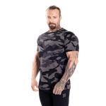 Thumbnail of Better Bodies Gym Tapered Tee - Dark Camo