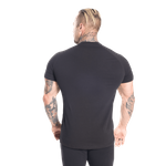 Thumbnail of Better Bodies Gym Tapered Tee - Black/Black