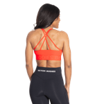 Thumbnail of Better Bodies Gym Sports Bra - Sunset Red