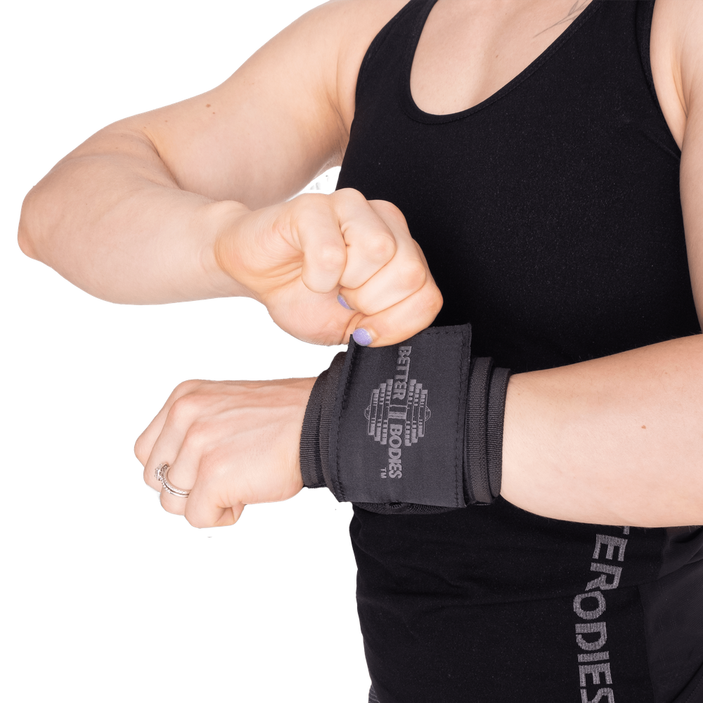 """Gallery image of Heavy Better Bodies Wrist Wraps 18"""""""