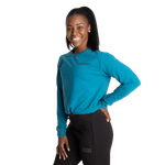 Thumbnail of Better Bodies Empire Cropped Crew - Dark Turquoise