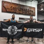 Thumbnail of GASP GASP Gym Flag - Black