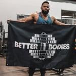Thumbnail of Better Bodies Better Bodies Gym Flag - Black