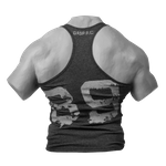 Thumbnail of GASP Ribbed T-back - Anthracite Melange