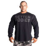 Thumbnail of Better Bodies Thermal Sweater - Asphalt
