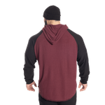 Thumbnail of GASP l/s thermal hoodie - Maroon