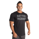 Thumbnail of Better Bodies Logo Tapered Tee - Washed Black