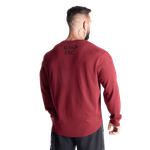 Thumbnail of GASP Thermal Gym Sweater - Maroon